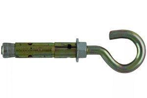 Анкер двухраспорный с полукольцом (крюком)